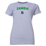 Zambia FIFA U-17 Women's World Cup Costa Rica 2014 Women's Core T-Shirt (Grey)