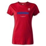 FIFA U-20 World Cup 2013 Women's Paraguay T-Shirt (Red)