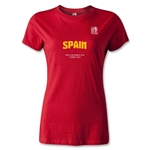 FIFA U-20 World Cup 2013 Women's Spain T-Shirt (Red)