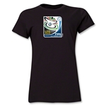 FIFA U-17 World Cup UAE 2013 Women's Official Emblem T-Shirt (Black)