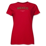 Mexico 2013 FIFA U-17 World Cup UAE Women's T-Shirt (Red)
