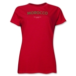 Morocco 2013 FIFA U-17 World Cup UAE Women's T-Shirt (Red)
