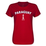 Paraguay FIFA U17 World Cup Chile 2015(TM) Women's T-Shirt (Red)