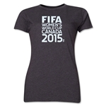 FIFA Women's World Cup Canada 2015(TM) Women's Event Emblem T-Shirt (Grey)