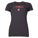 Canada FIFA Women's World Cup Canada 2015(TM) Women's T-Shirt (Grey)