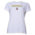 Australia FIFA Women's World Cup Canada 2015(TM) Women's T-Shirt (White)