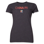 China FIFA Women's World Cup Canada 2015(TM) Women's T-Shirt (Grey)