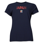 Japan FIFA Women's World Cup Canada 2015(TM) Women's T-Shirt (Navy)