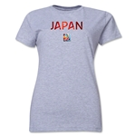 Japan FIFA Women's World Cup Canada 2015(TM) Women's T-Shirt (Grey)
