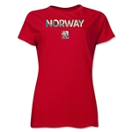 Norway FIFA Women's World Cup Canada 2015(TM) Women's T-Shirt (Red)
