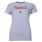 France FIFA Women's World Cup Canada 2015(TM) Women's T-Shirt (Grey)