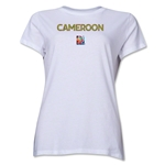Cameroon FIFA Women's World Cup Canada 2015(TM) Women's T-Shirt (White)