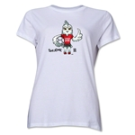 FIFA Women's World Cup Canada 2015(TM) Women's Mascot Pose 1 T-Shirt (White)