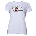 FIFA Women's World Cup Canada 2015(TM) Women's Mascot Pose 2 T-Shirt (White)