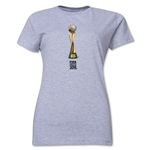 FIFA Women's World Cup Canada 2015(TM) Women's Trophy 2 T-Shirt (Grey)