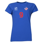 USA FIFA Women's World Cup Canada 2015(TM) Player Women's T-Shirt (Royal)