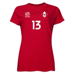 Canada FIFA Women's World Cup Canada 2015(TM) Player Women's T-Shirt (Red)