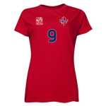 Norway FIFA Women's World Cup Canada 2015(TM) Player Women's T-Shirt (Red)