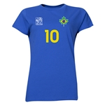 Brazil FIFA Women's World Cup Canada 2015(TM) Player Women's T-Shirt (Royal)