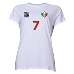 Mexico FIFA Women's World Cup Canada 2015(TM) Player Women's T-Shirt (White)