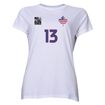 USA FIFA Women's World Cup Canada 2015(TM) Player Women's T-Shirt (White)