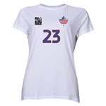 FIFA Women's World Cup Canada 2015(TM) Player Women's T-Shirt (White)
