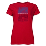 I Believe Women's T-Shirt (Red)