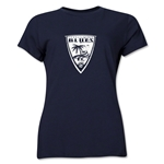 Orange County Blues Soccer Women's T-Shirt (Navy)
