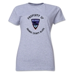 Orange County Blues Soccer Women's T-Shirt (Grey)
