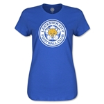 Leicester City Crest Women's T-Shirt (Royal)