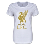 Liverpool Liver Bird Women's T-Shirt (White)