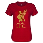 Liverpool Liver Bird Women's T-Shirt (Red)