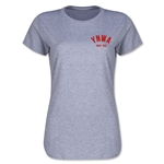 Liverpool YNWA Women's T-Shirt (Gray)