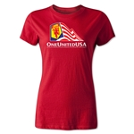 One United USA Women's T-Shirt (Red)