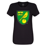 Norwich City Core Women's T-Shirt (Black)
