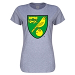 Norwich City Core Women's T-Shirt (Gray)