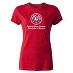 NSCAA Women's T-Shirt (Red)