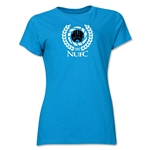 Newcastle United Distressed Women's T-Shirt (Turquoise)
