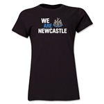 Newcastle United We Are Newcastle Women's T-Shirt (Black)