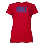 Chile Powered by Passion Women's T-Shirt (Red)