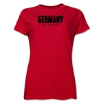 Germany Powered by Passion Women's T-Shirt (Red)