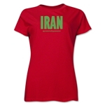 Iran Powered by Passion Women's T-Shirt (Red)
