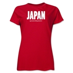 Japan Powered by Passion Women's T-Shirt (Red)