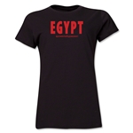 Egypt Powered by Passion Women's T-Shirt (Black)