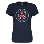 Paris Saint-Germain Women's T-Shirt (Navy)