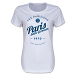 Paris Saint-Germain Circle Script Women's T-Shirt (White)