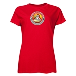 FC Santa Claus Core Women's T-Shirt (Red)