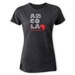 Angola Women's Country T-Shirt (Dark Gray)