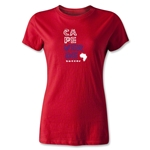 Cape Verde Women's Country T-Shirt (Red)