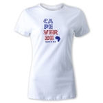 Cape Verde Women's Country T-Shirt (White)